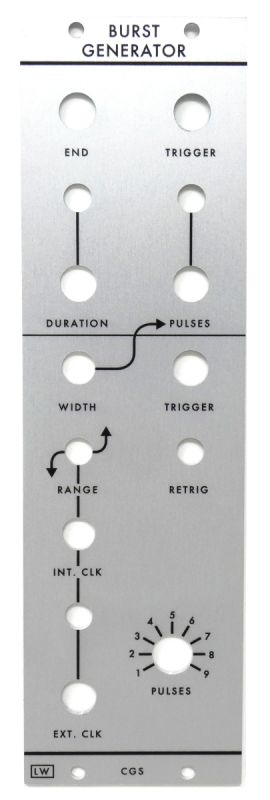 Loudest Warning CGS06 Burst Generator Panel