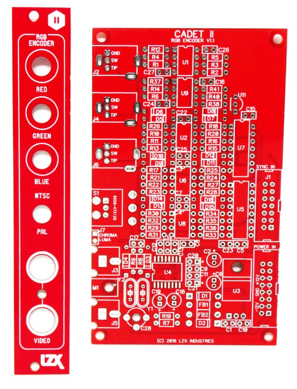 Cadet II RGB Encoder PCB/Panel