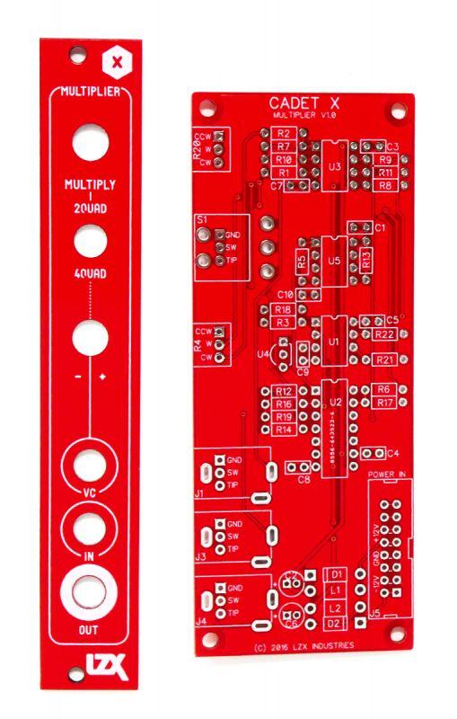 LZX Cadet X Multiplier PCB/Panel