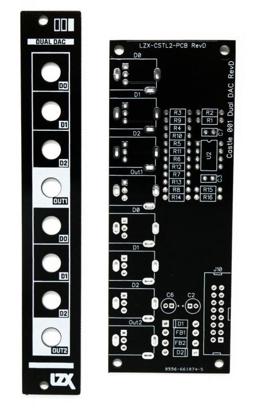 LZX Castle 001 DAC PCB/Panel