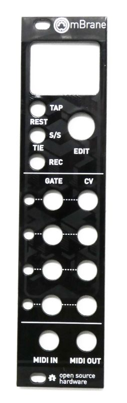 uMutated Yarns: 6hp mBrane Panel