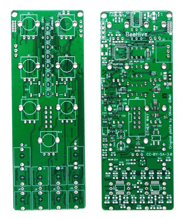 BeeHive: 8HP Plaits PCB