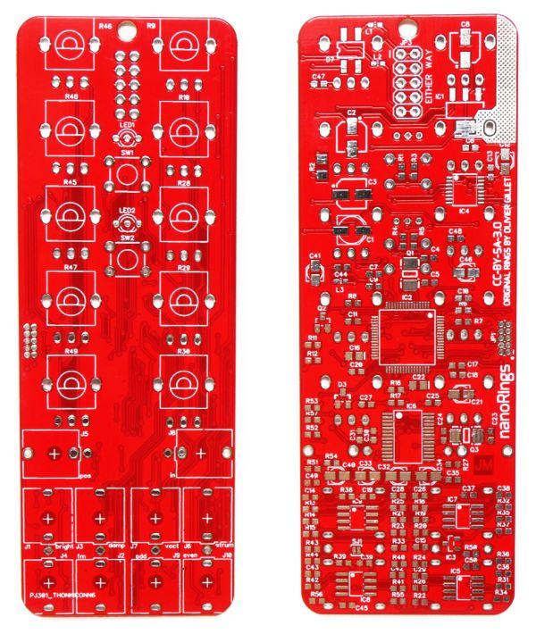 nRings: 8HP Rings PCB