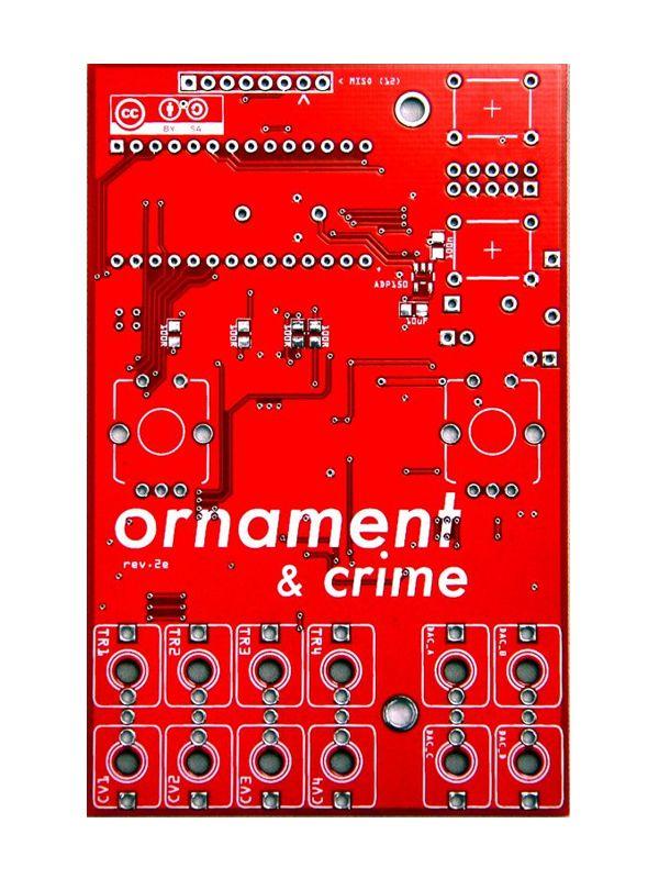 Ornament & Crime PCB