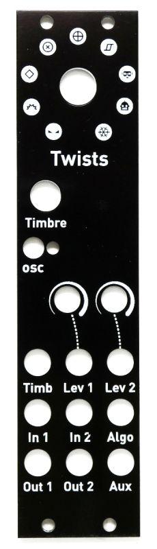 Twists: microMutated 6hp Warps Panel