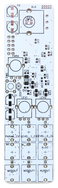 Twists: microMutated 6hp Warps PCB Top