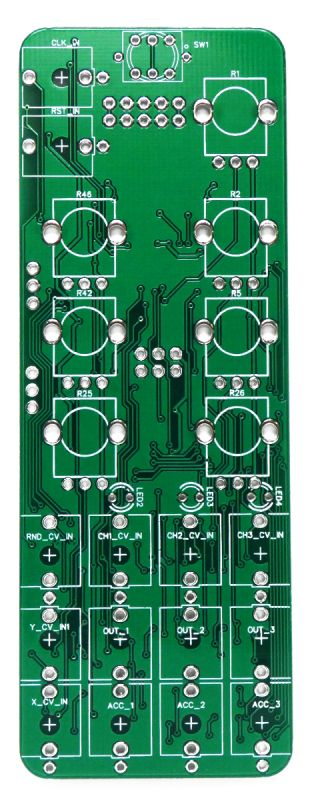 uGrids: microMutated 8hp Grids PCB top