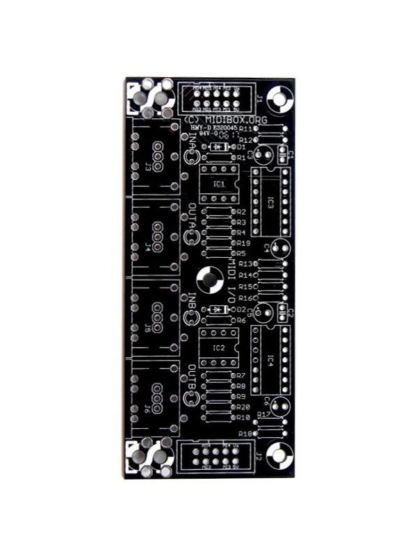 MIDI I/O PCB | MIDIbox