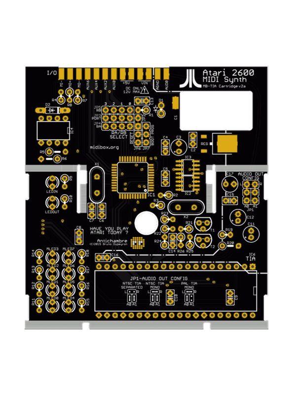 TIA Atari 2600 Synth Cartridge Partial Kit