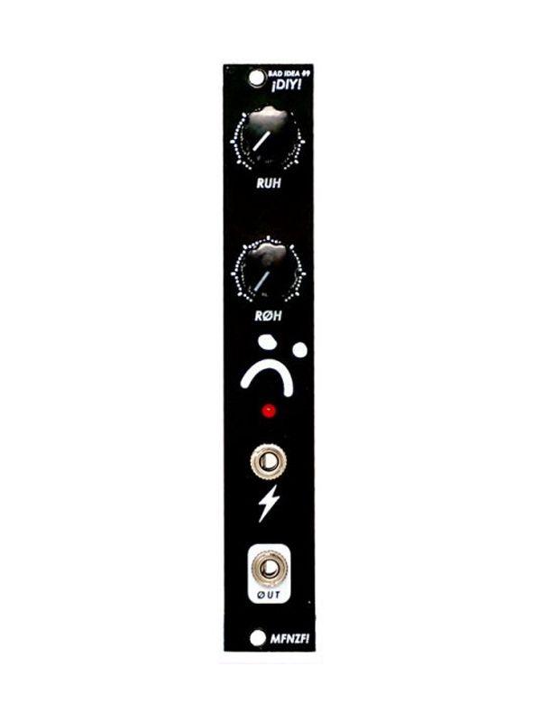 Bad Idea #9 - Power Starved Glitch Oscillator PCB/Panel   Moffenzeef Modular