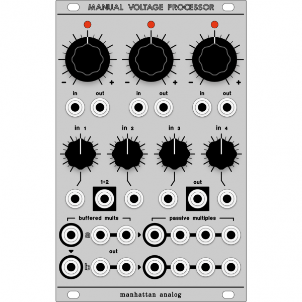 Manual Voltage Processor PCB/Panel