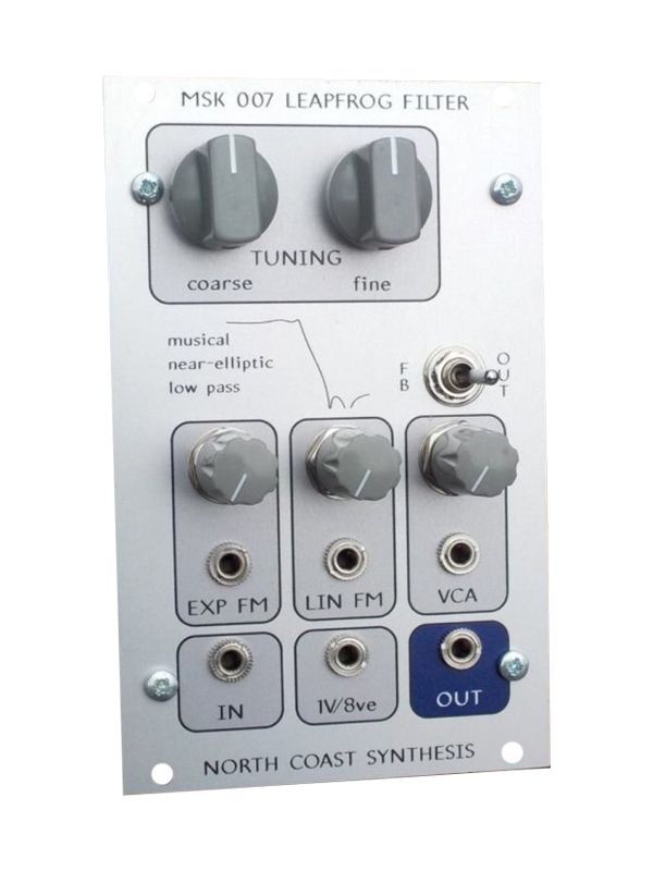 MSK 007 Leapfrog VCF Full Kit - North Coast Synthesis