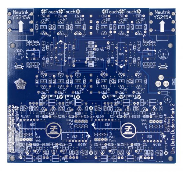 Din Datin Dudero Mark 2 (DDDM2) PCB