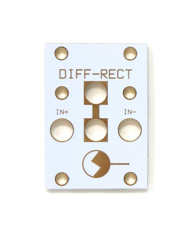 1U Diff-Rect - Intellijel Tile White Pan / PCB Set