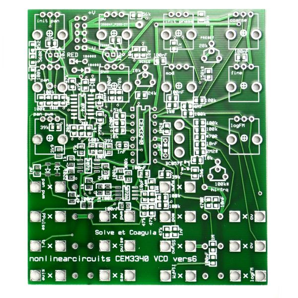 CEM3340 VCO - 3340 Voltage Controlled Oscillator | NonLinear Circuits