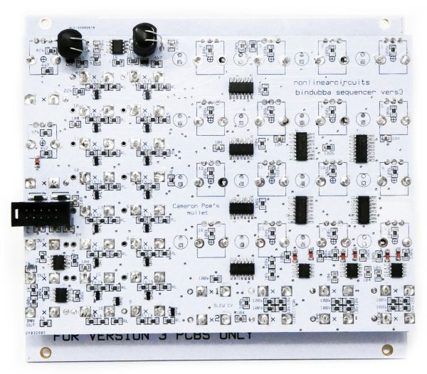 NLC Bindubba Sequencer rear Nonlinear Circuits
