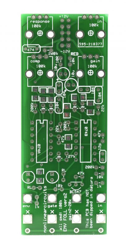 NonLinear Circuits Collude PCB - Synth-DIY