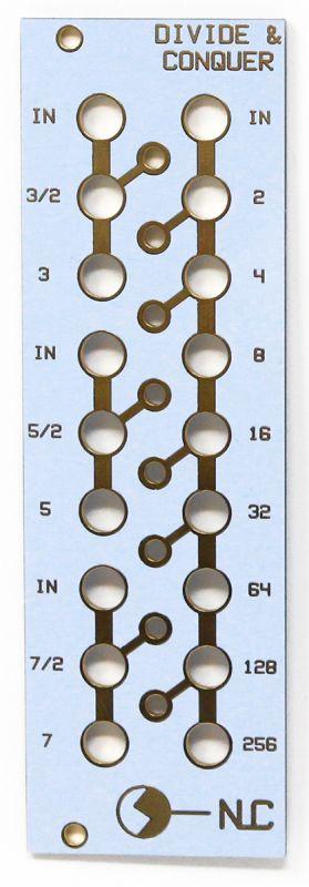 Divide & Conquer - Clock Divider Panel | NonLinear Circuits
