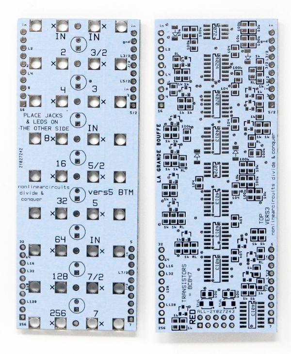 Divide & Conquer - Clock Divider PCB | NonLinear Circuits