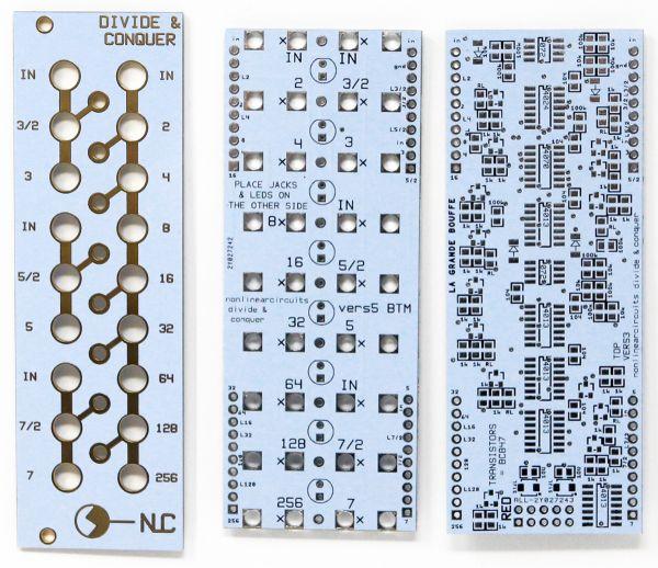 Divide & Conquer - Clock Divider | NonLinear Circuits