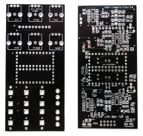 Dual LPG - Dual Low Pass Gate | NonLinear Circuits
