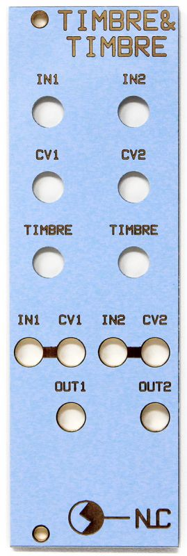 NonLinear Circuits Dual Timbre Panel