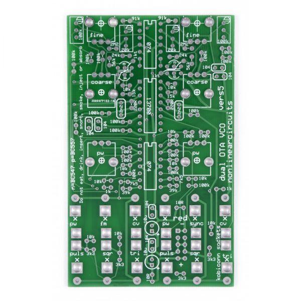Nonlinear Circuits Dual VCO PCB