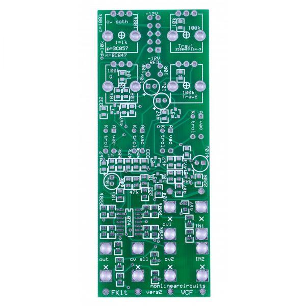 Nonlinear Circuits FK1T VCF PCB
