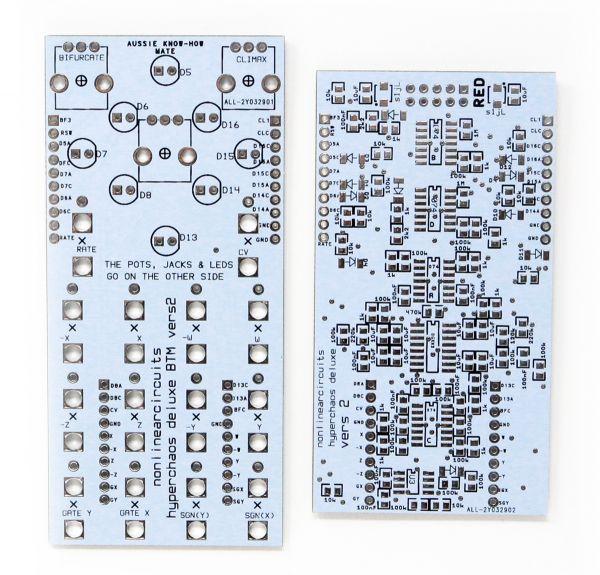 NLC NonLinear Circuits HyperChaos Deluxe PCB