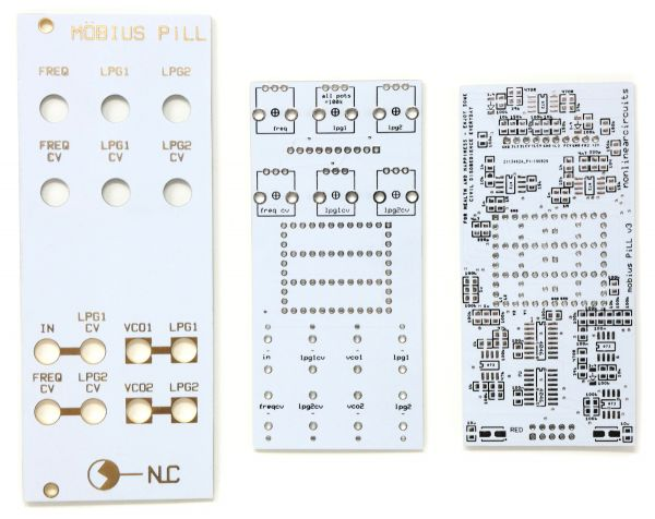 Mobius PiLL - Chaotic Noise Phase Lock Loop | NonLinear Circuits