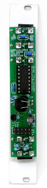 Nonlinear Circuits Vactrol PiLL Rear