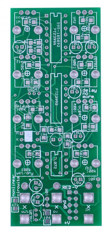 Nonlinearcircuits DIY Eurorack Delay PCB