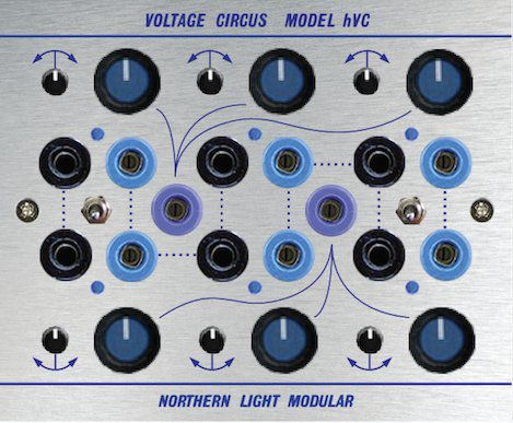Northern Light Modular Voltage Circus HVC (H-Series)