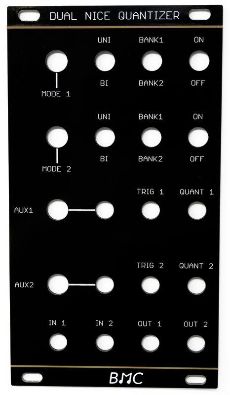 Oscillosaurus Barton Dual Nice Quantizer  BMC016 Panel