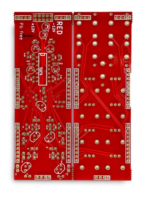 Quadlopes PCB