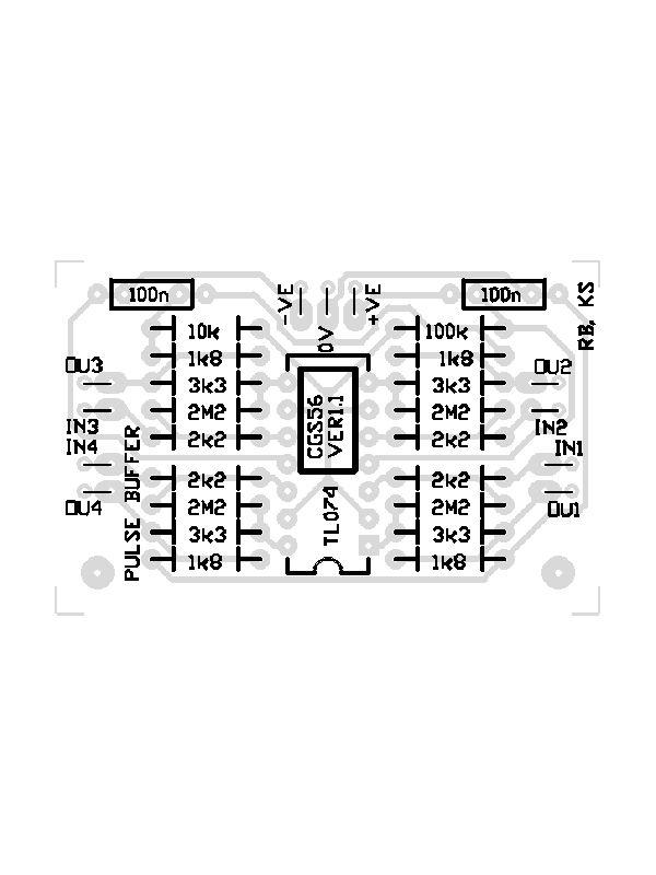 CGS56 - Gate Converter PCB