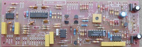 CGS75 - Serge VCS PCB