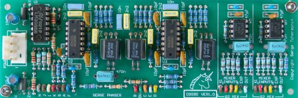 Serge Phaser / Mixer PCB