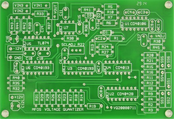 MFOS Quantizer PCB