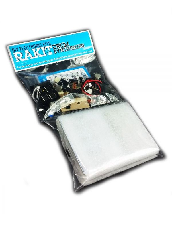 Drum Synth - PC-2 inspired Pocket Percussion Synthesizer Kit | Rakit