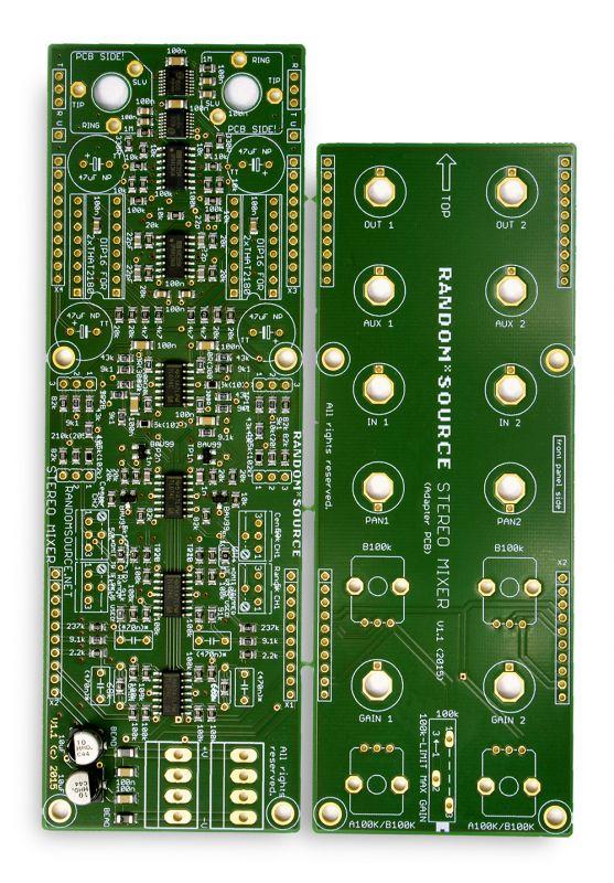 Stereo Mixer PCB