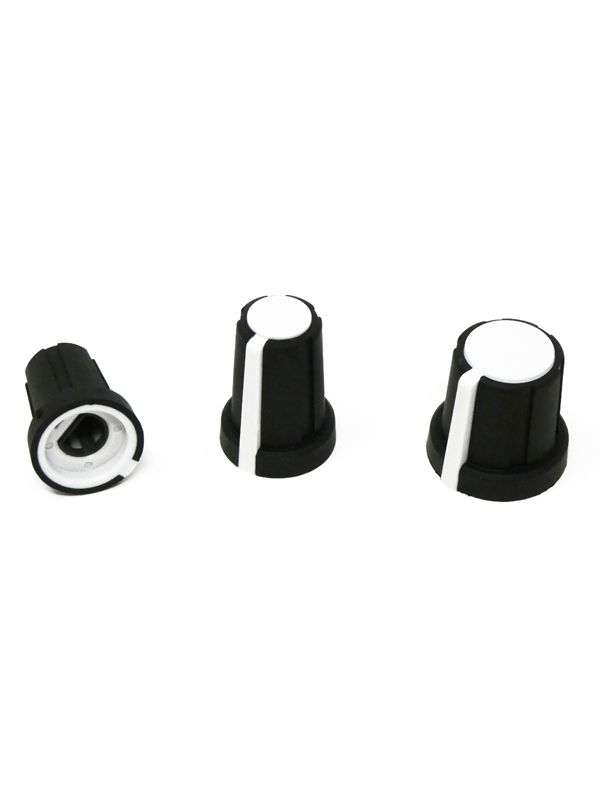 Rogan PT-PS Soft Touch Skirted Knobs (D-Shaft)