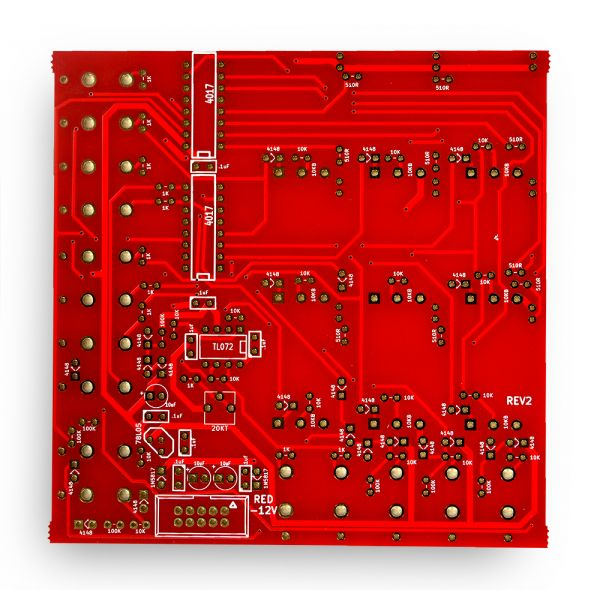 Noise Reap Sequencer PCB