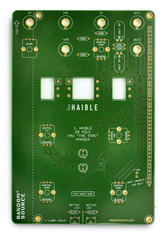 Jurgen Haible Tau Pipe Phaser PCB