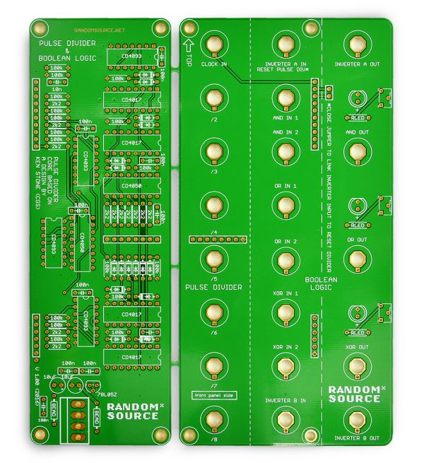 Serge Divide And Compare PCB