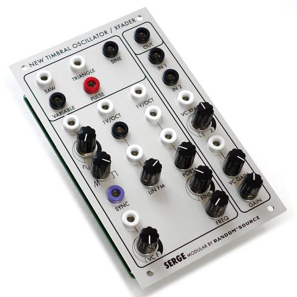 Serge New Timbral Oscillator (NTO) / XFADER PCB/Panel