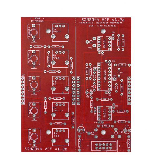 Fonitronik SSM-2044 Filter - Eurorack DIY VCF