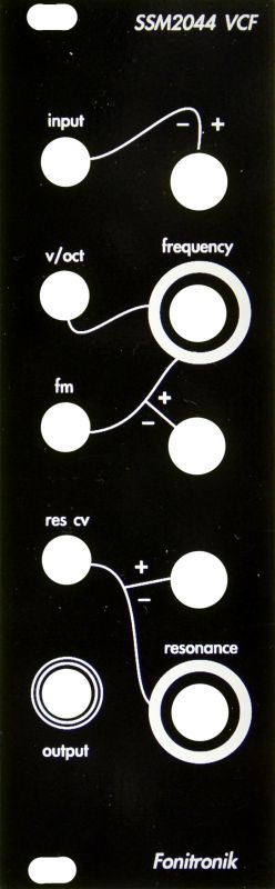 Timo Rozendal SSM-2044 Filter - Eurorack DIY VCF