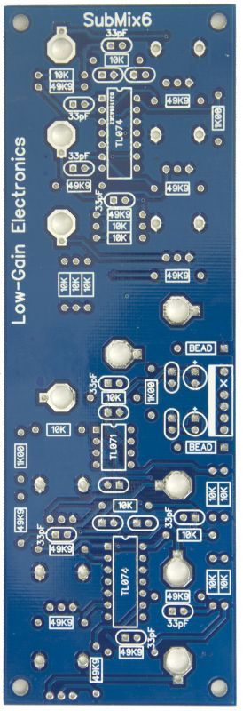 SubMix6 PCB