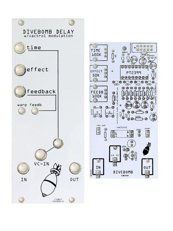 Divebomb Delay PCB/Panel